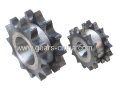 double single sprocket made in china